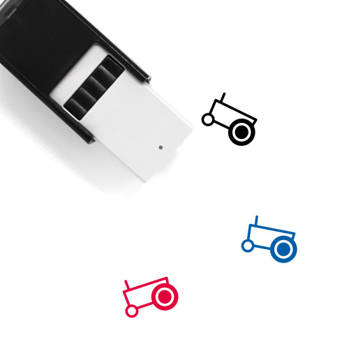 Tractor Self-Inking Rubber Stamp No. 104