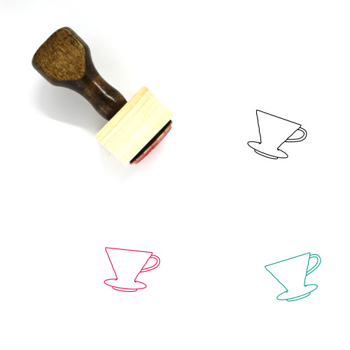 Hario V60 Wooden Rubber Stamp No. 2