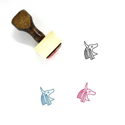 Egyptian Wooden Rubber Stamp No. 20