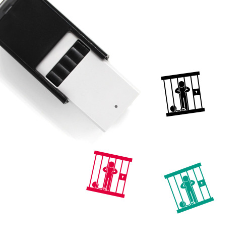 Lockup Self-Inking Rubber Stamp No. 1