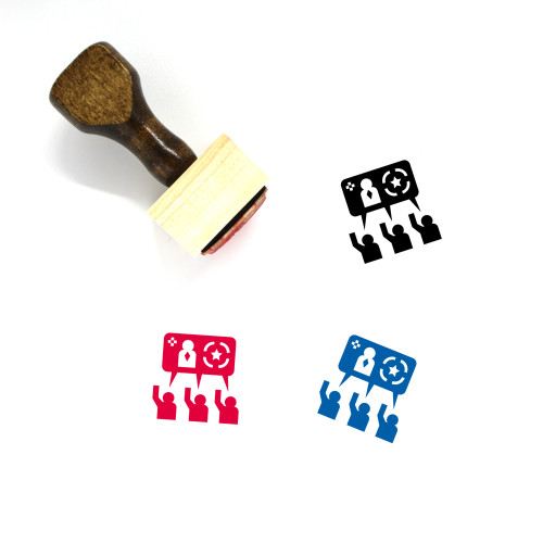 Consensus Wooden Rubber Stamp No. 2