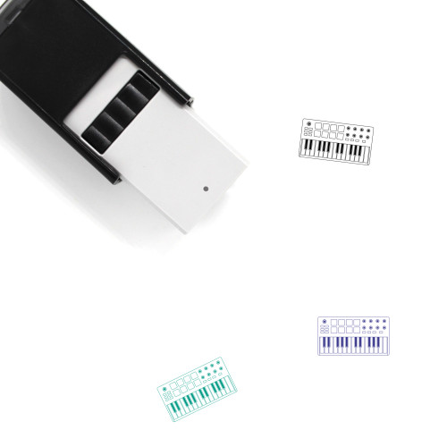 Midi Controller Self-Inking Rubber Stamp No. 4