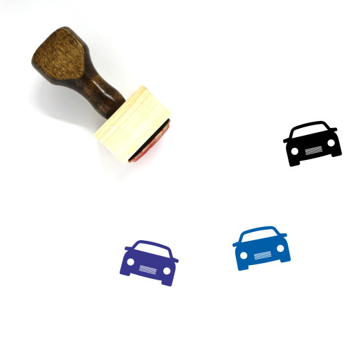 Car Wooden Rubber Stamp No. 466