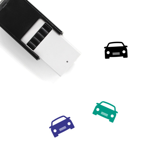 Car Self-Inking Rubber Stamp No. 466