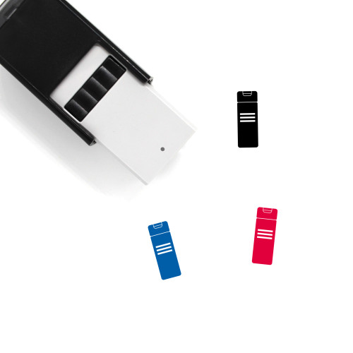 Shampoo Bottle Self-Inking Rubber Stamp No. 8