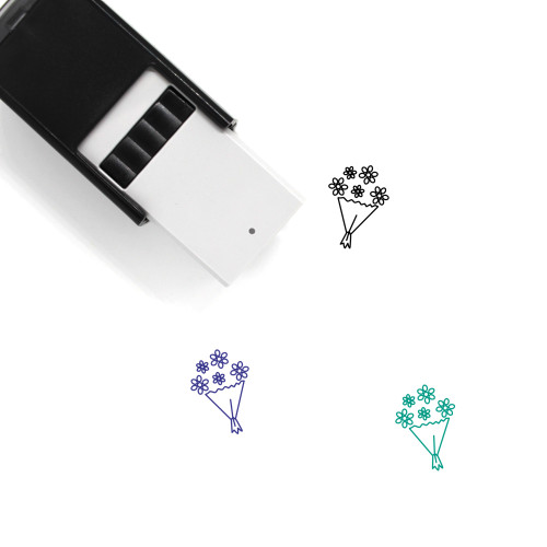 Bouquet Self-Inking Rubber Stamp No. 41