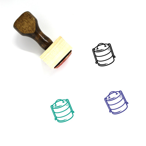 Tiffin Wooden Rubber Stamp No. 1