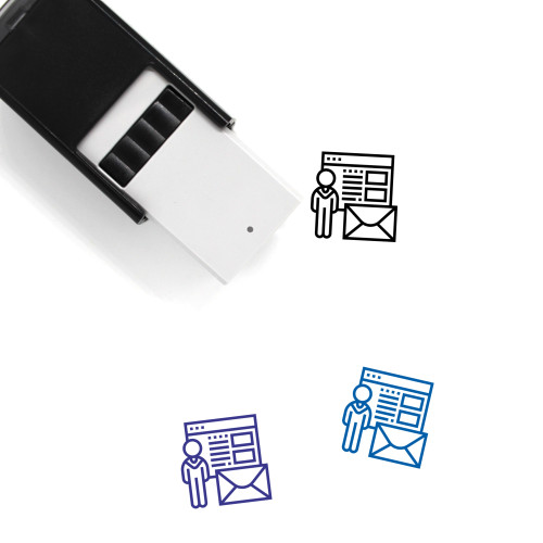 Recruiter Self-Inking Rubber Stamp No. 4