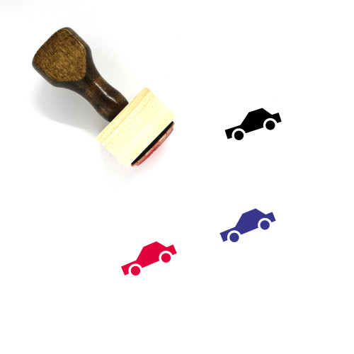 Car Wooden Rubber Stamp No. 467