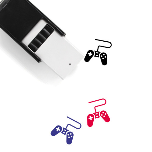 Gamepad Self-Inking Rubber Stamp No. 71