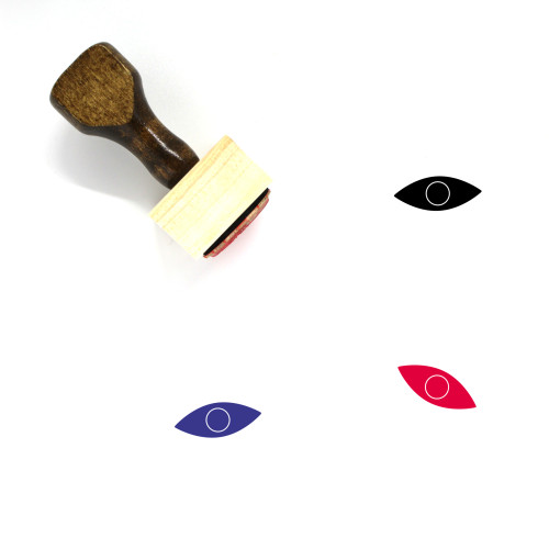 Eye Wooden Rubber Stamp No. 500