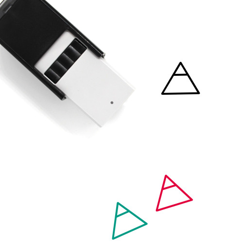 Triangle Self-Inking Rubber Stamp No. 126