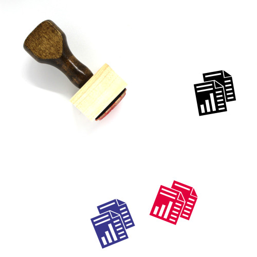 Documents Wooden Rubber Stamp No. 133