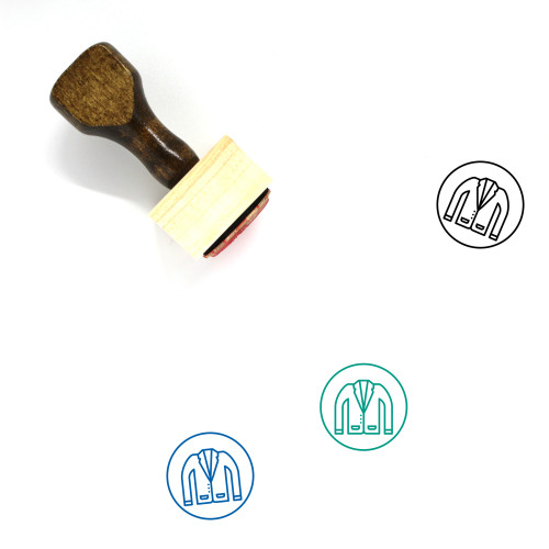Blazer Wooden Rubber Stamp No. 29