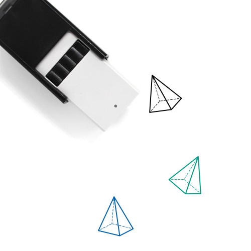 Geometry Shape Self-Inking Rubber Stamp No. 16