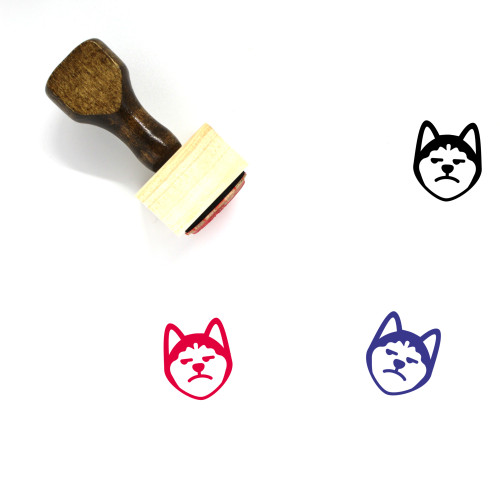 Annoying Wooden Rubber Stamp No. 41