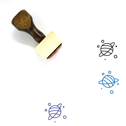 Astrology Wooden Rubber Stamp No. 29