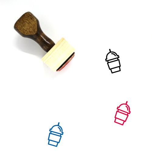 Drink Wooden Rubber Stamp No. 117