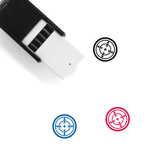 Aim Self-Inking Rubber Stamp No. 84