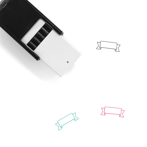 Banderole Self-Inking Rubber Stamp No. 1