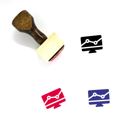 Market Research Statistics Wooden Rubber Stamp No. 1
