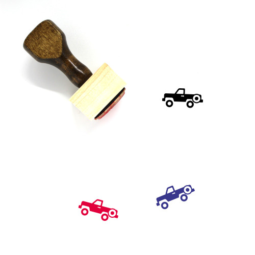 Truck Wooden Rubber Stamp No. 283