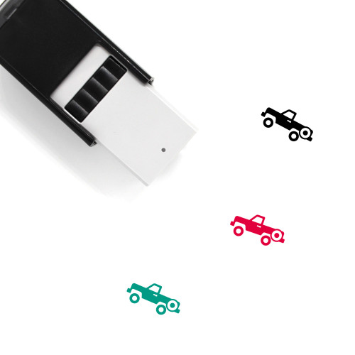 Truck Self-Inking Rubber Stamp No. 283