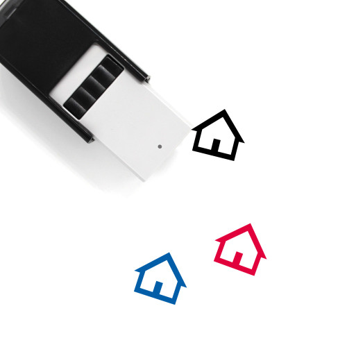 House Self-Inking Rubber Stamp No. 450