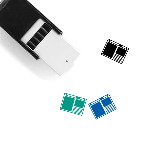 Browser Self-Inking Rubber Stamp No. 119