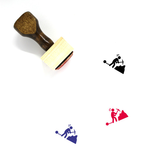 Slavery Wooden Rubber Stamp No. 3