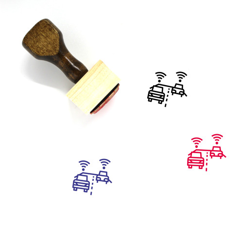 Autonomous Wooden Rubber Stamp No. 1