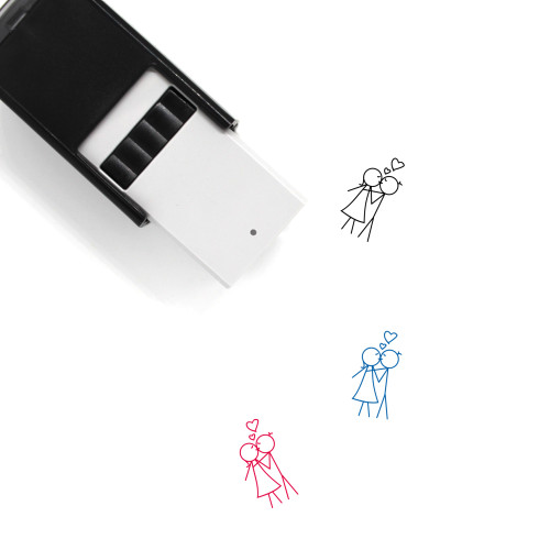 Kiss Self-Inking Rubber Stamp No. 46
