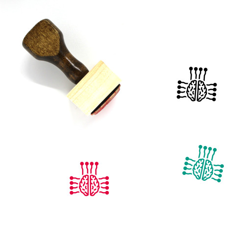 Smart Wooden Rubber Stamp No. 68