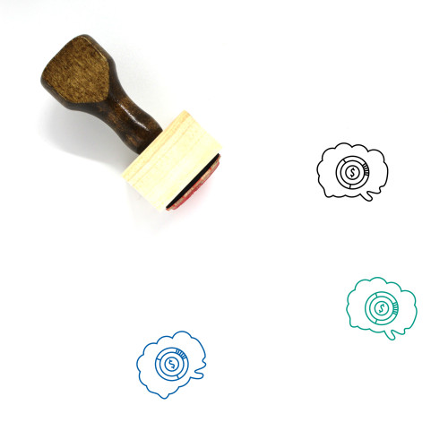 Customer Survey Wooden Rubber Stamp No. 17