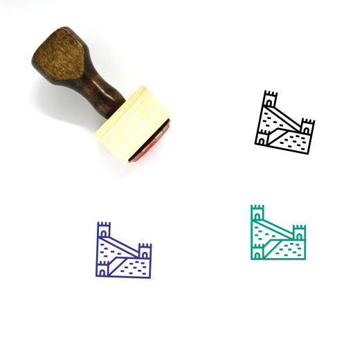 Great Wall Wooden Rubber Stamp No. 14