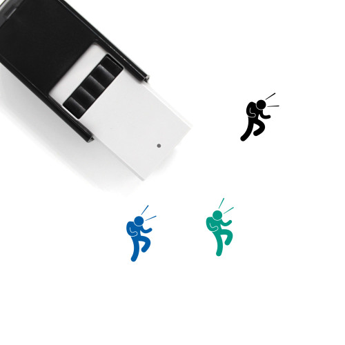 Fist Pump Self-Inking Rubber Stamp No. 1