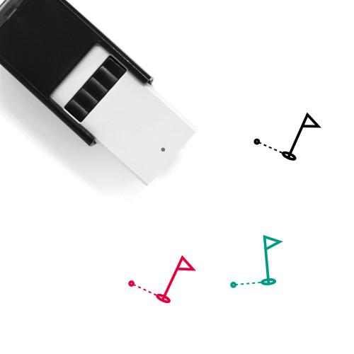 Golf Self-Inking Rubber Stamp No. 70