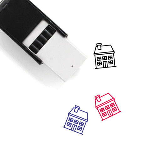 House Self-Inking Rubber Stamp No. 451