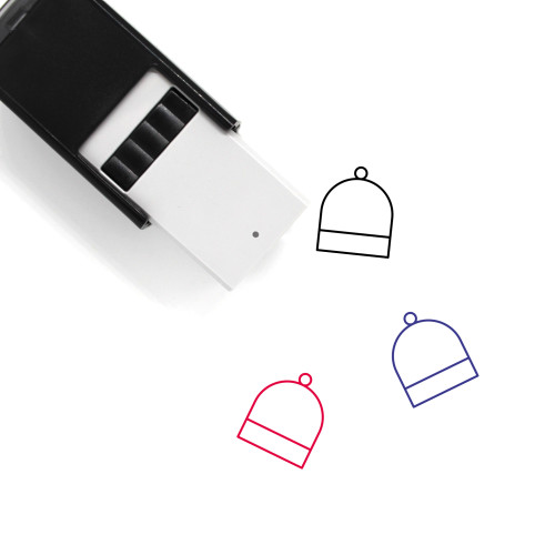 Glass Dome Self-Inking Rubber Stamp No. 1