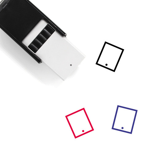 Tablet Self-Inking Rubber Stamp No. 164