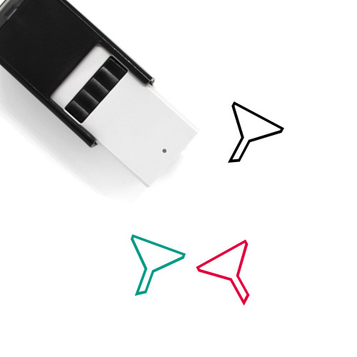 Funnel Self-Inking Rubber Stamp No. 49