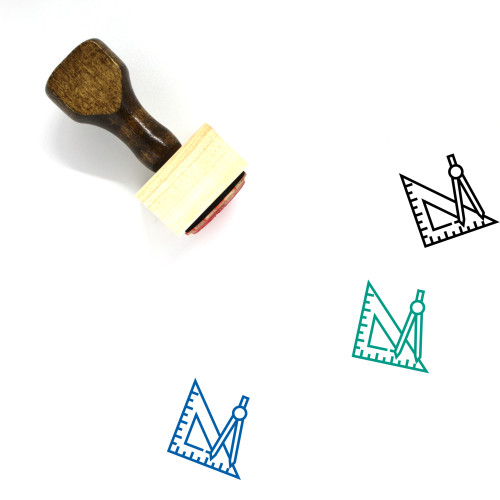 Design Tools Wooden Rubber Stamp No. 47