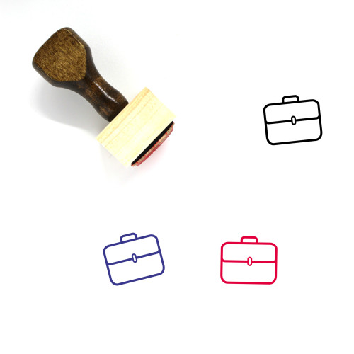 Jobs Wooden Rubber Stamp No. 3