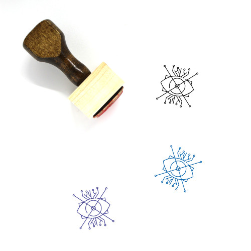 Ar Wooden Rubber Stamp No. 2