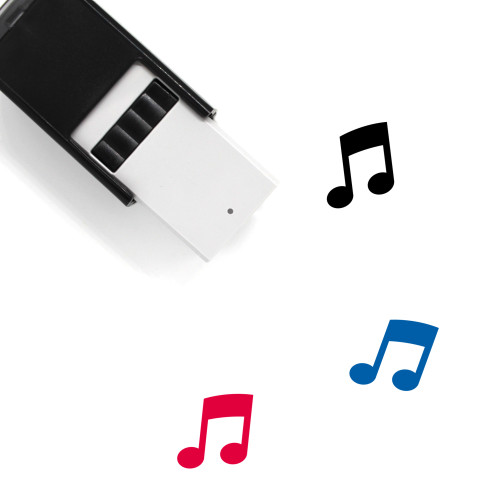 Music Self-Inking Rubber Stamp No. 176