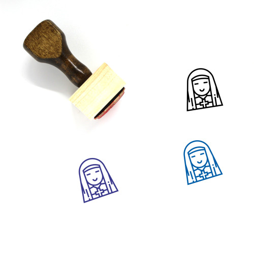 Sister Wooden Rubber Stamp No. 5
