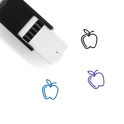 Fruit Self-Inking Rubber Stamp No. 180