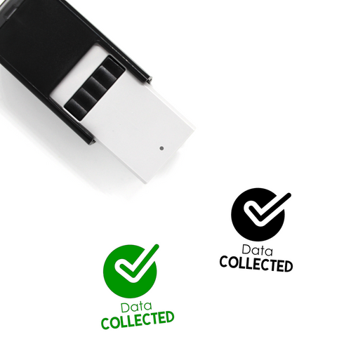 """Data Collected"" Self-Inking Rubber Stamp for Teachers"