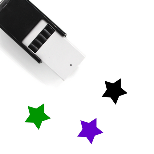 """Reward Star"" Self-Inking Rubber Stamp for Therapists"