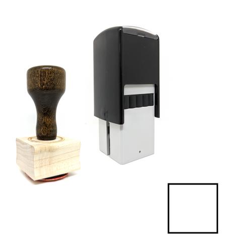 """Open Task - Square"" Rubber Stamp for Bullet Journals"